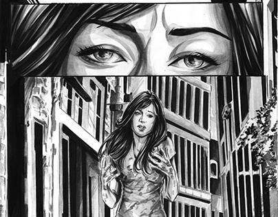 Comic pages- sample 2010-2013