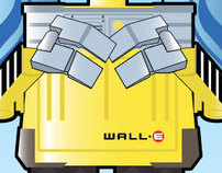 Wall- E Art Deco