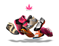 Shoes for a female runner during periods of pregnancy