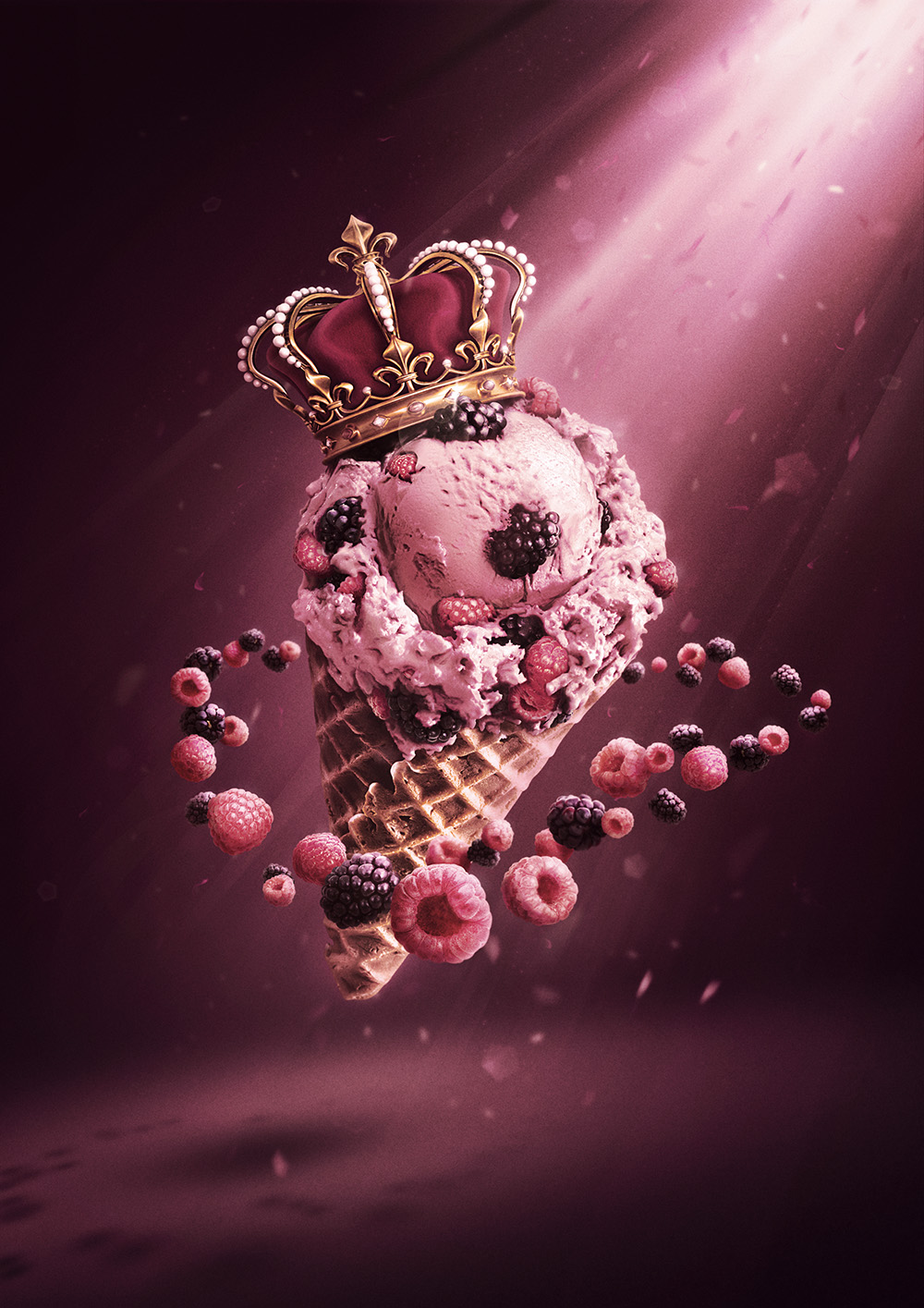 Ice cream Royale