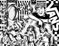 VANS HALF CAB History in Illustration