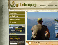 Globe Troopers home page pitch