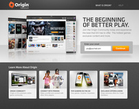 Origin Login & Registration