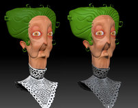 SNielson Old Witch 3d version WIP