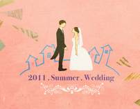Wedding Invitation Card Design (for my dear sister)