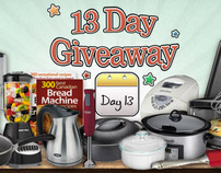 13 Day Giveaway Rotator