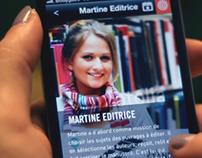 Demain le Livre - iPhone app , Website & Teaser