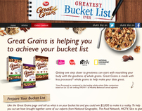 Great Grains Greatest Bucket List Ever