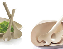 Biodegradable Salads Set