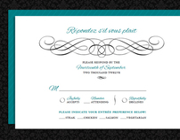 Simple & Timeless Wedding Invitations