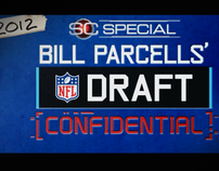 SC Parcells Draft Confidential / Tease/Open animation