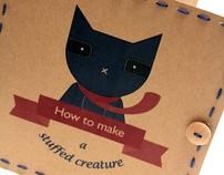 How to make a stuffed creature