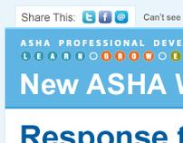 ASHA Email Template