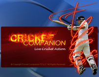 Cricket Companion Desktop Application.