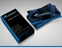 nVisionIT - Logo & Business Card Design