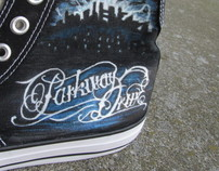 Hand-Painted Custom Shoes