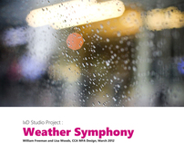 Interaction Design: Weather Symphony