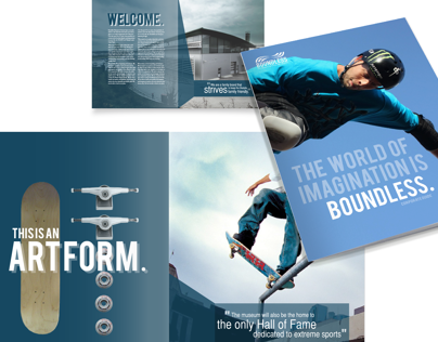 Boundless Museum for Extreme Sports Collateral