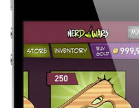 Nerd Wars (iPhone Game)