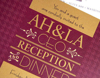 AH&LA CEO Dinner Invitation