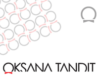 Logotype for Oksana Tandits Haute Couture brand