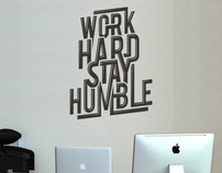 Work Hard Stay Humble £19.99