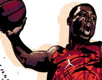 Nike / Jordan / Mitchy Bwoy signature T-shirts