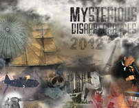 Mysterious Disappearances Calendar- Colored