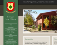 Colegio Los Olivos - Website & Blog