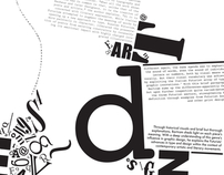 Typography Editorial Concept