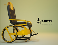 Chairity - Wheelchair Concept ibPublic Transportation