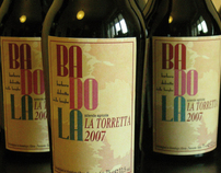 Badola Wine Label