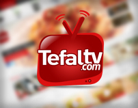 Tefaltv | Website & Logo 2012
