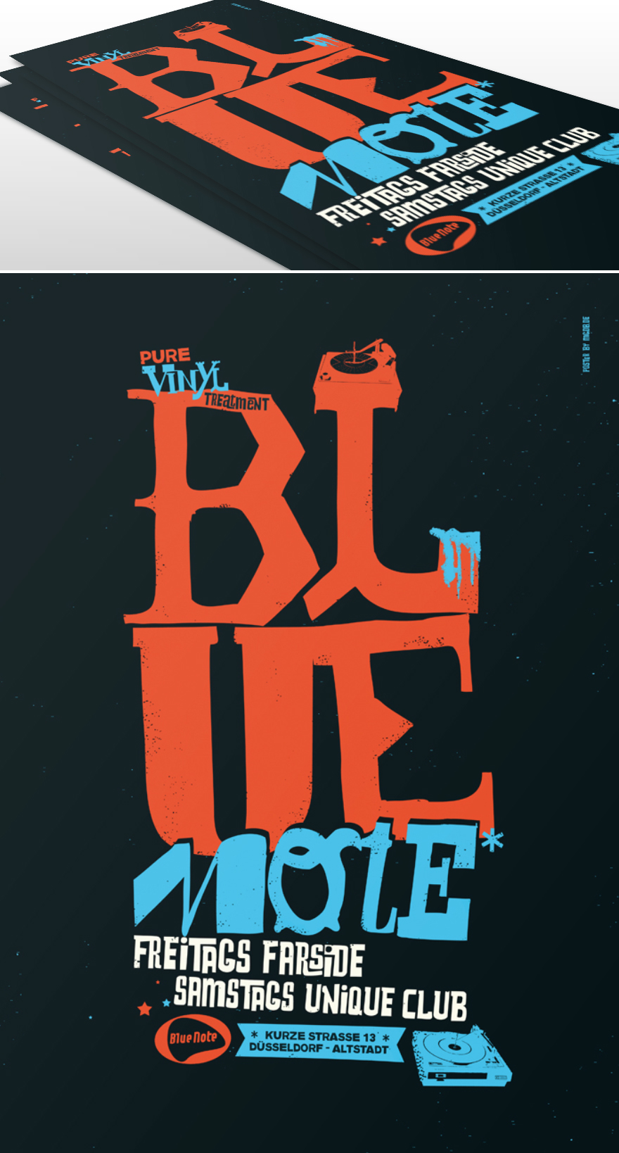 Blue Note Club - Flyer & Poster