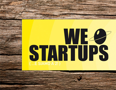 WE LOVE STARTUPS - POSTER