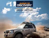 Land Rover -  Journey of Discovery Book