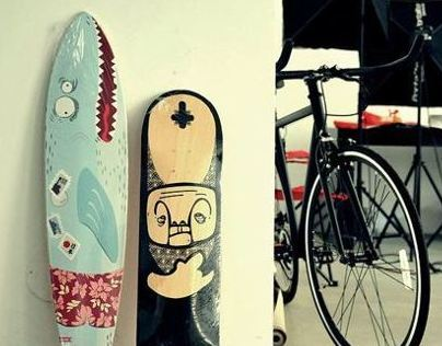 Longboard deck | Design