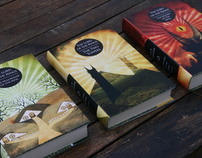 Lord of the Rings - Book Cover Designs