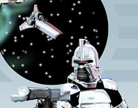 Battlestar Galactica Fan Art