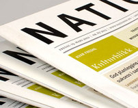 Newspaper design | Nationen