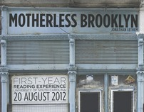 Motherless Brooklyn First-Year Reading Experience