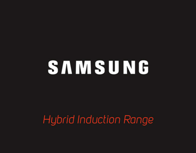 Samsung Hybrid Induction Range Commercial