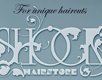 Shock hairstore // advertising
