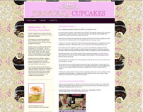 Mock Cupcake Web Site