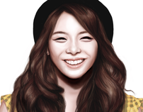 Digital Painting: Ailee