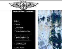 Crew Republica Website Design, 2011
