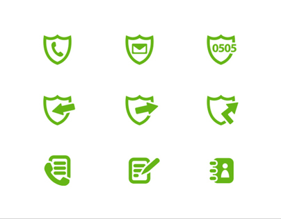 Smart Telemeeting Icon Set