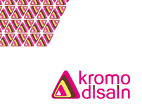 Logotype re-design & promo-materials for Kromo Disain