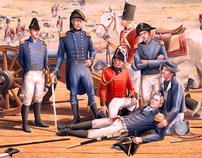 Interpretive historical illustration, War of 1812