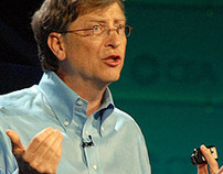 BILL GATES PERSONAL WEBSITE